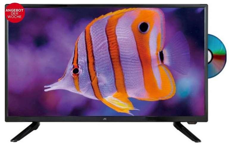 Jay-Tech Titanis Travel - 24,5 Zoll FULL HD LED-TV mit Triple-Tuner u. DVD-Player für 79€ (statt 125€)