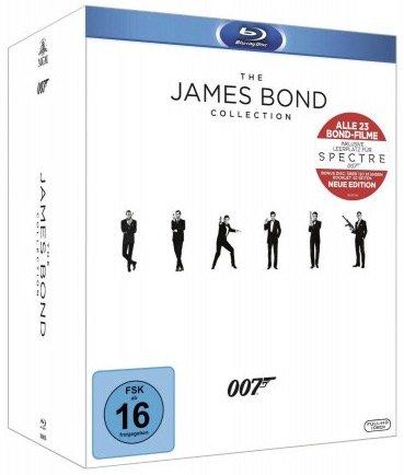 James Bond Collection (23 Filme) auf Blu-ray für 55,45€ (statt 120€)