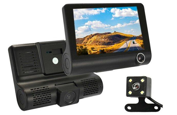 Auto DVR C5C Dashcam mit Rück- & Innenraumkamera für 24,88€ inkl. VSK