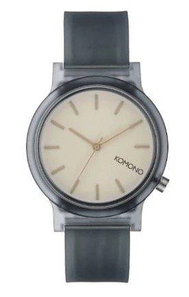 "Komono Mono Charcoal ""KOM-W4305"" Uhr für 23,99€ (statt 48€)"