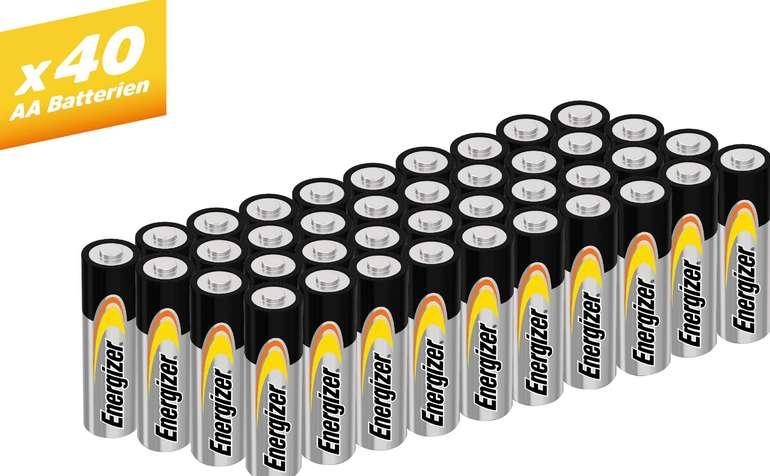 """Energizer """"Alkaline Power Mignon"""" Batterien (AA, 40 Stück) für 8,94€ inkl. Versand (statt 15€)"""