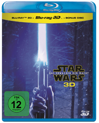 Star Wars: Das Erwachen der Macht Blu-ray (3D +2D) für 15,99€ inkl. Versand