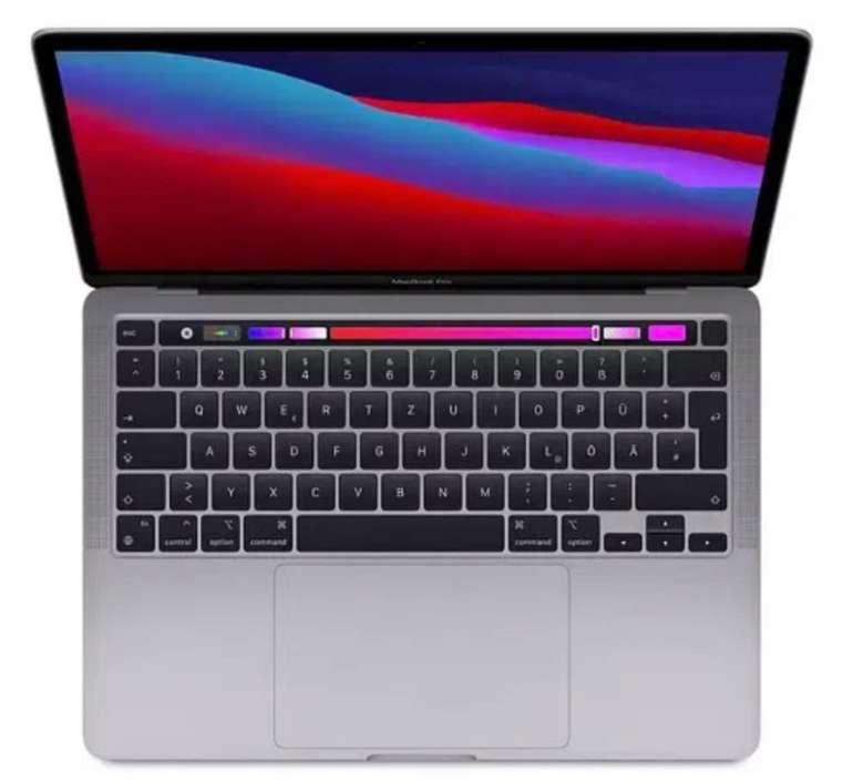 MacBook Pro M1 mit 8GB RAM und 256GB Speicher (1€) + o2 Data L mit 60GB LTE / 5G für 74,99€ mtl.