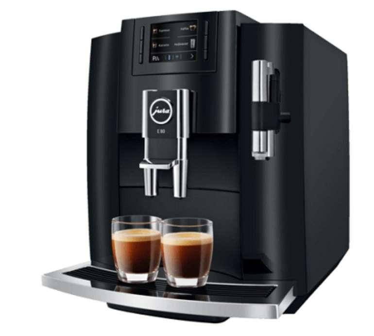 Jura E80 Modell 2019 Kaffeevollautomat mit Milchaufschäumdüse für 799€ (statt 899€)