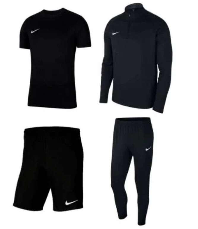 4-teiliges Nike Academy 18 Trainingsset (Jacke, Hose, T-Shirts, Shorts) für 54,95€ inkl. Versand