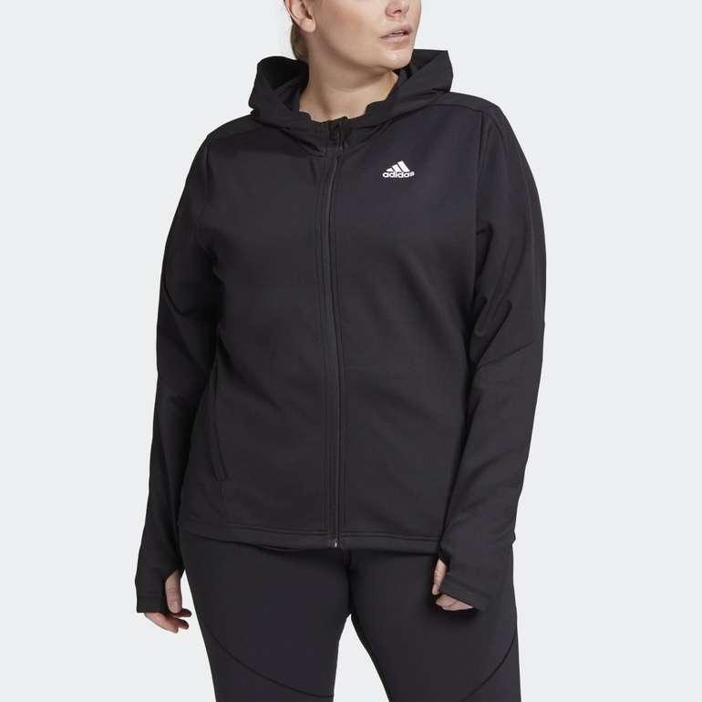 Adidas Aeroready Knit Damen Jacke (große Größen) für 32,72€ inkl. Versand (statt 48€)