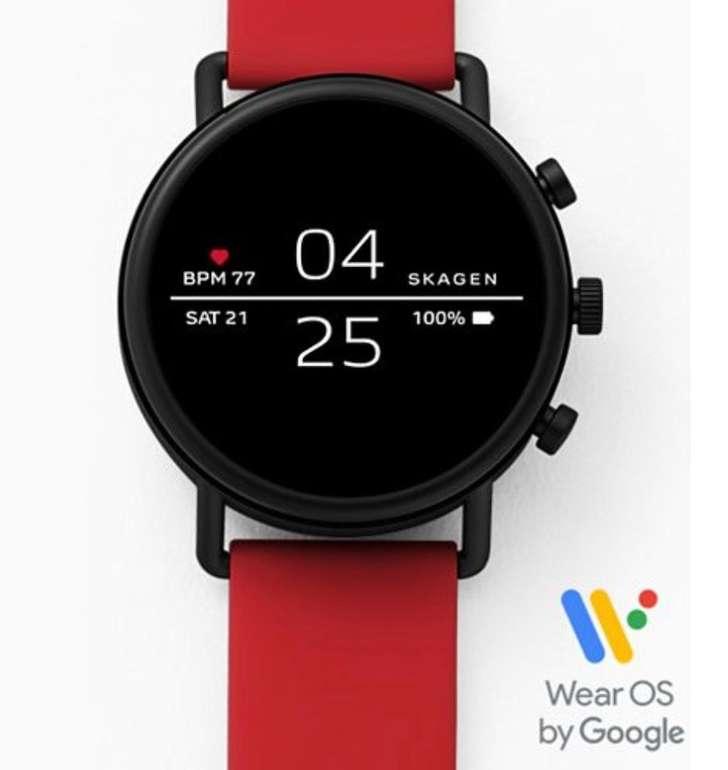 Skagen Falster 2 Smartwatch mit Silikonarmband (verschiedene Farben) für je 79,20€ (statt 149€)