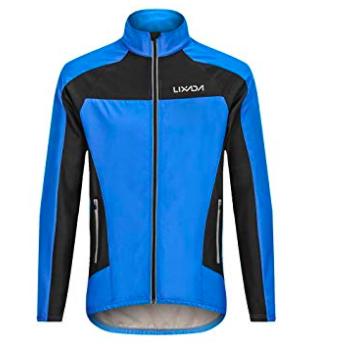 Lixada Herren Radfahrer-Jacke mit Rückentaschen für 19,99€ (statt 28€) - Prime!