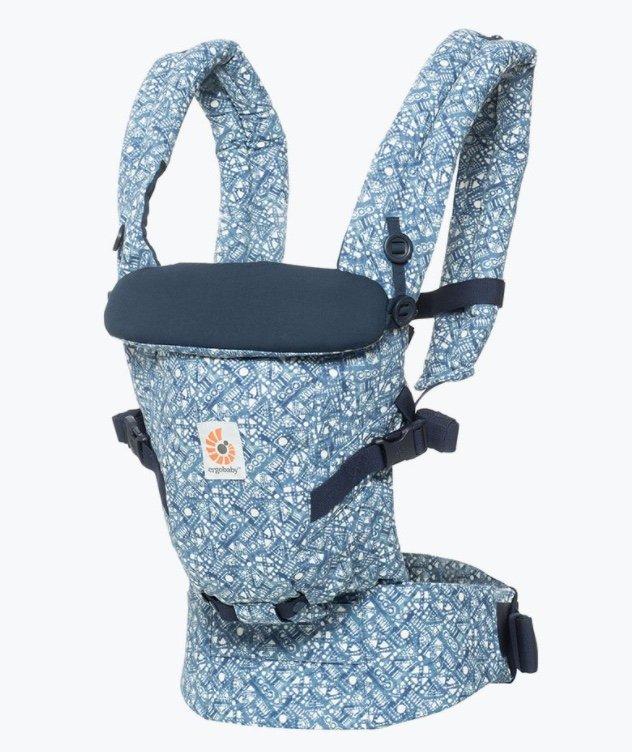 """Ergobaby Adapt Babytrage in """"Batik Indigo"""" für 98€ inkl. Versand (statt 140€)"""