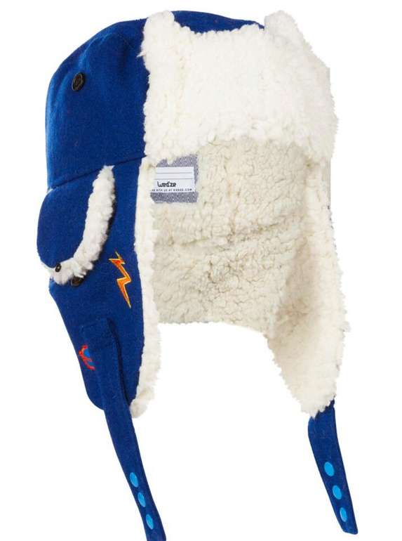 Wedze Skimütze Chapka Kid Kinder in Blau für 13,98€ inkl. Versand (statt 19€) - Abholung: 9,99€