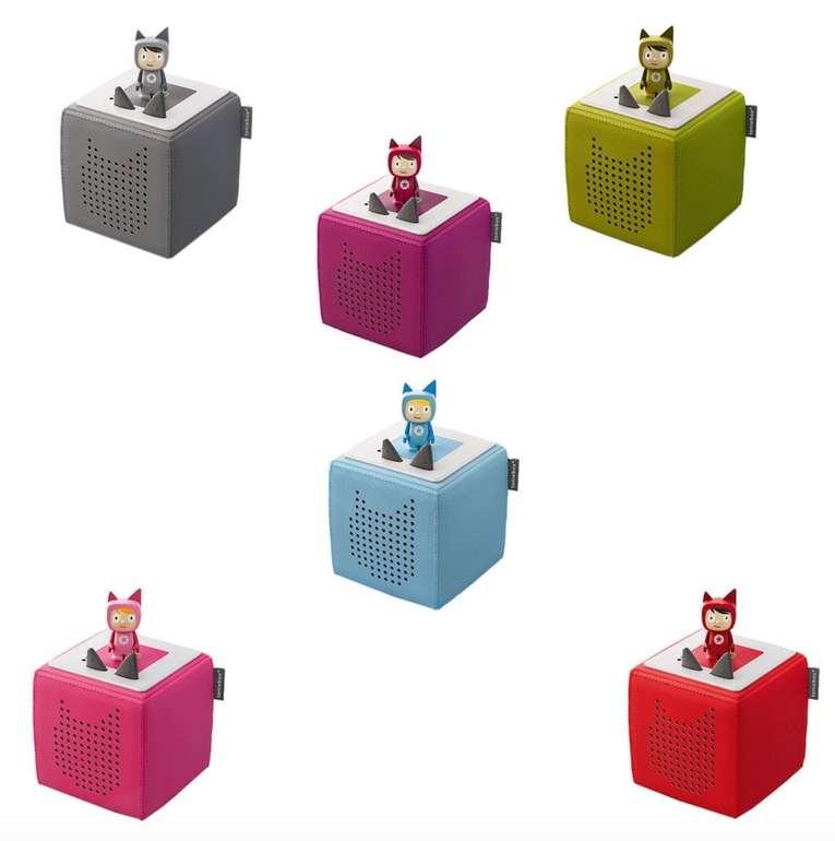 Toniebox Starterset + Kreativ Tonie - Hörspielbox für Kids je nur 64,90€ (statt 71€) - PayDirekt!