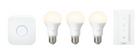Philips Hue Starterkit White 3 x E27 Leuchten mit Bridge und Schalter für 65€