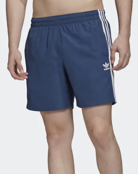 Adidas Originals Badeshorts in blau - weiß ab 20,77€ inkl. Versand (statt 29€)