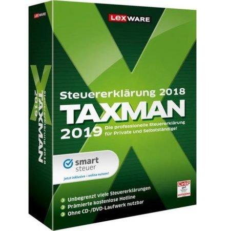Lexware Taxman 2019 (für die Steuererklärung 2018) nur 8,39€ (Download)