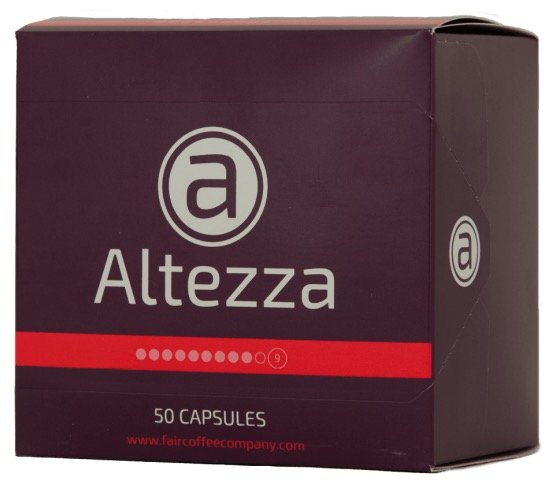 400 Altezza Kaffeekapseln (Nespresso) für 58,96€ inkl. Versand (statt 75€)