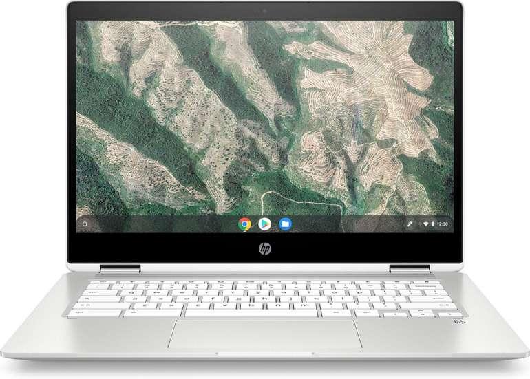 HP 14b-ca0320ng Chromebook x360 - 14 Zoll IPS Notebook mit 4GB RAM & 64GB eMMC für 340,21€