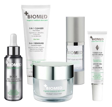"BIOMED 5-teiliges Anti-Aging-Set ""Forget your Age 3"" für 44,44€ (statt 100€?)"