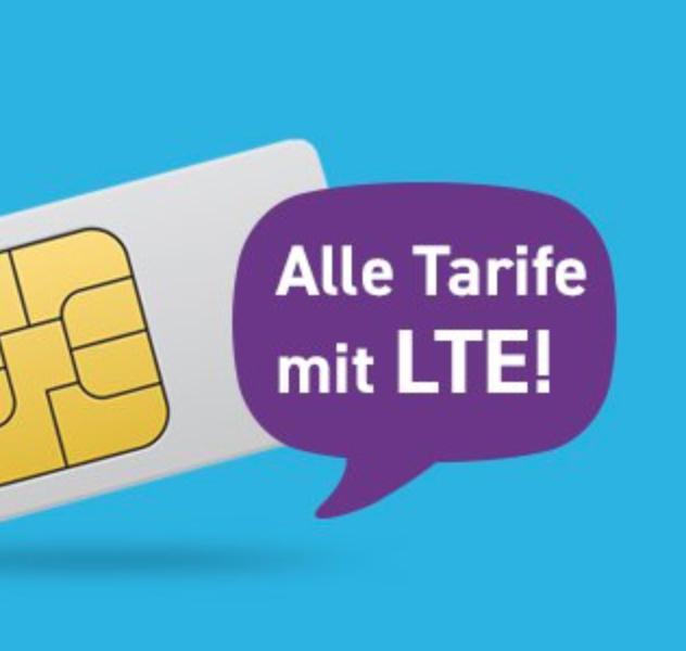 Blau Allnet L mit 3GB LTE für 8,99€ mtl. oder Allnet XL mit 5GB LTE für 13,99€