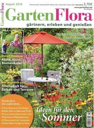 """Halbjahres-Abonnement """"GartenFlora"""" mit 6 Ausgaben für 4,95€"""