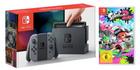 Nintendo Switch Konsole (Grau) + Splatoon 2 (Exklusiv) für 333€