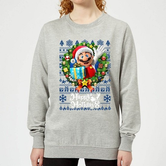 Offizielle Nintendo Weihnachtspullover inkl. Nintendo-Prints (A3 oder A4) für 19,99€