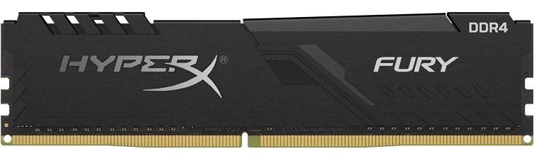 Kingston HyperX Fury Black 16GB DDR4 2666 CL16 für 49,99€ inkl. VSK (statt 70€) - Paydirekt!