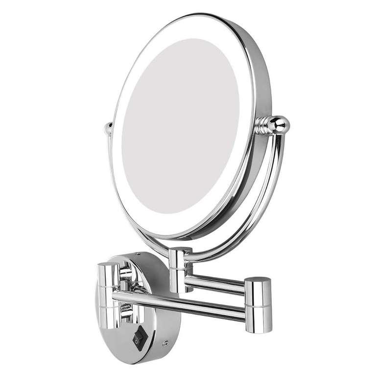 Excelvan Kosmetikspiegel mit LED Beleuchtung (zur Wandmontage) für 22,99€ inkl. Prime VSK