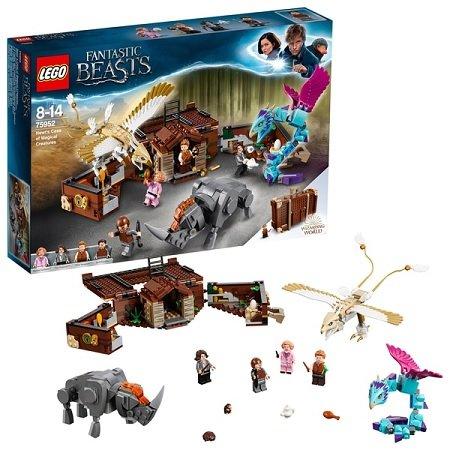 LEGO Harry Potter - 75952 Newts Koffer der magischen Kreaturen für 29,99€