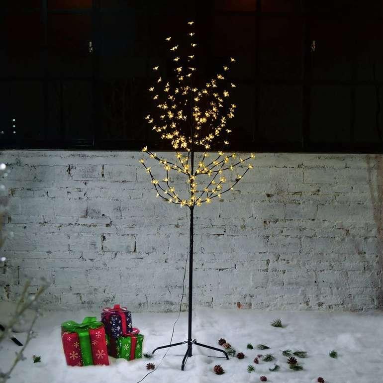-30% auf Vingo LED Kirschblütenbäume für Innen & Außen, z.B. 150cm warmweiß für 18,19€
