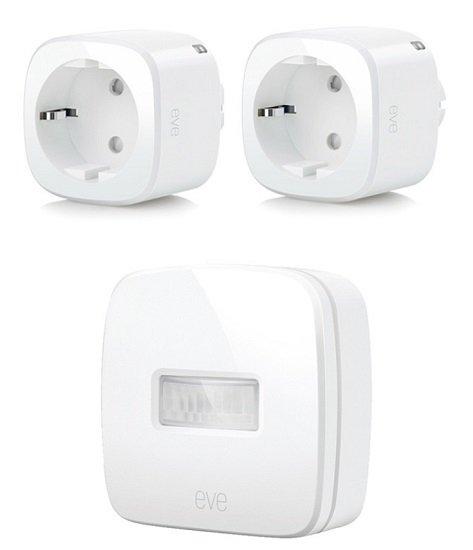 Bundle: 2x Eve Energy Smart Plugs + Eve Motion für 94,95€ (statt 125€)