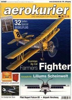 12 Ausgaben AeroKurier Magazin für 78€ + 60€ Amazon Gutschein
