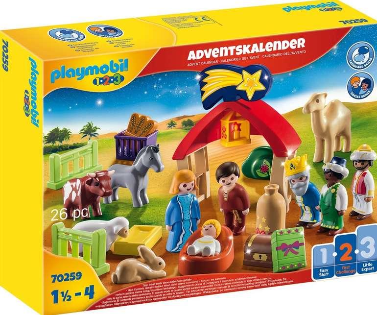 Playmobil Adventskalender Weihnachtskrippe mit liebevollen Figuren (70259) für 17,99€inkl. Prime Versand (statt 21€)