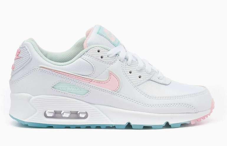 Nike Air Max 90 Damen Sneaker in türkis / pink für 89,99€inkl. Versand (statt 119€)