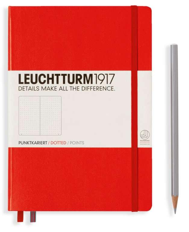 Notizbuch Medium Classic in Rot (kariert) für 11,99€inkl. Versand (statt 16€)