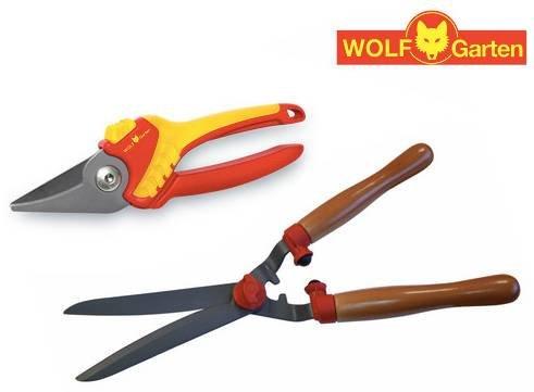 Wolf Garten Heckenschere HS-TL + Gartenschere RR1500 für 22,90€ (statt 40€)