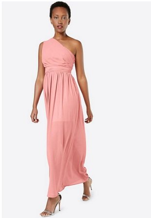 Boohoo One-Shoulder Kleid für 10,01€ inklusive Versand