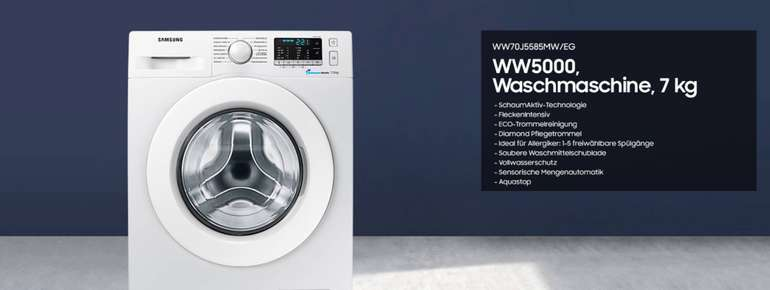 Header Waschmaschine