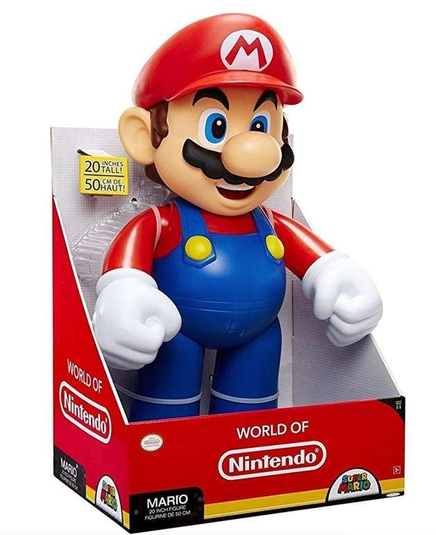 Jakks Pacific - Super Mario XXL Figur (50cm, 1,3 kg) für 42,98€ inkl. Versand (statt 50€)