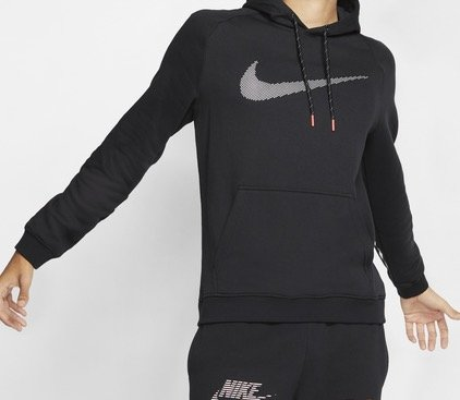 Nike Reflective Swoosh Over The Head Herren Hoodie für 29,99€ (statt 37€)