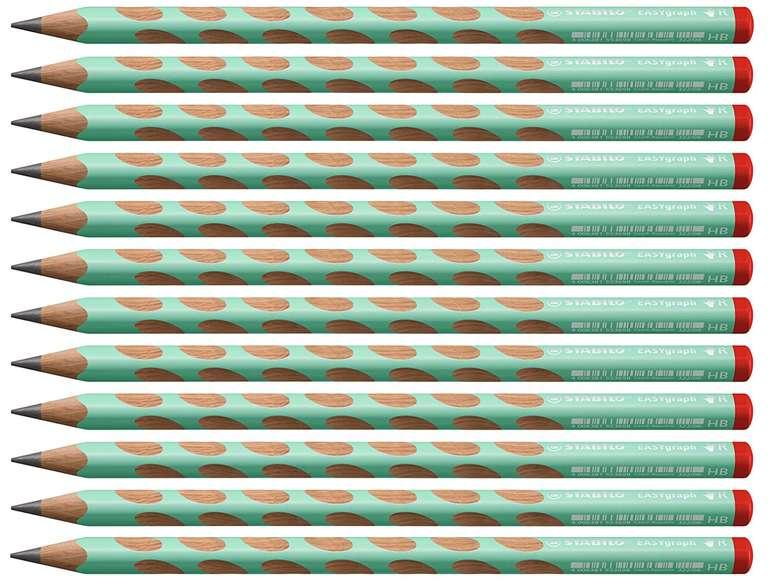 Stabilo EASYgraph in pastellgrün (12er Pack, Härtegrad HB) für 7,75€ inkl. Prime Versand (statt 14€)
