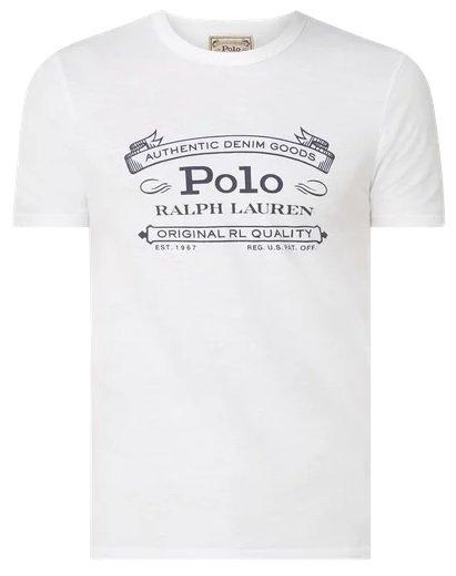 Polo Ralph Lauren T-Shirt mit Logo in Weiß für 34,99€ inkl. Versand (statt 80€)