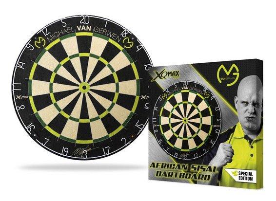 """Micheal Van Gerwen """"Bristle African Sisal"""" Dart Board für 32,90€ (statt 50€)"""