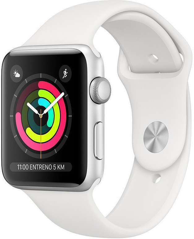 Apple Watch Series 3 GPS 38mm mit Sport Band für 197,99€ (statt 223€)