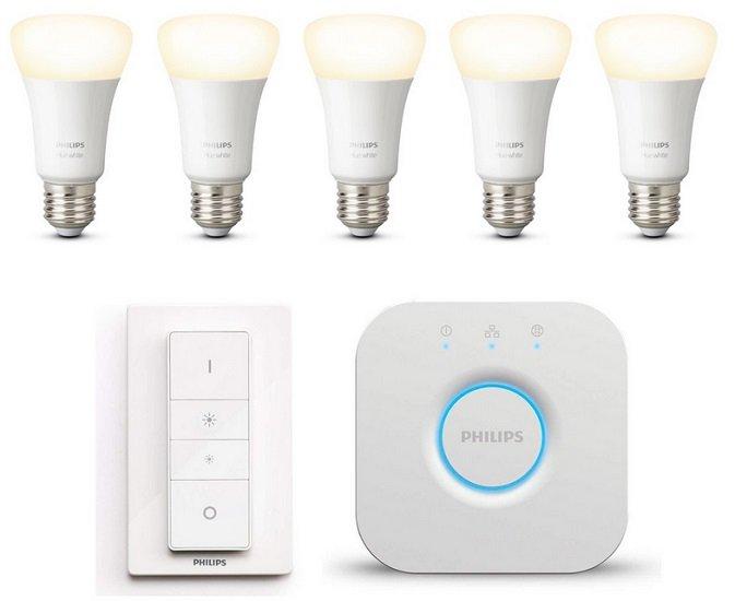 Philips Hue White E27 Bluetooth Starter Kit + 2 Lampen Extra für 89,95€ inkl. VSK (statt 100€)