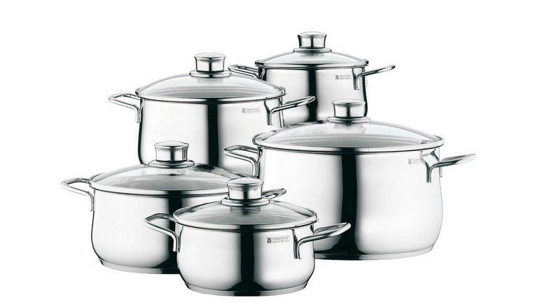 WMF Diadem Plus: 5 teiliges Kochgeschirr-Set für 79,99€ inkl. Versand