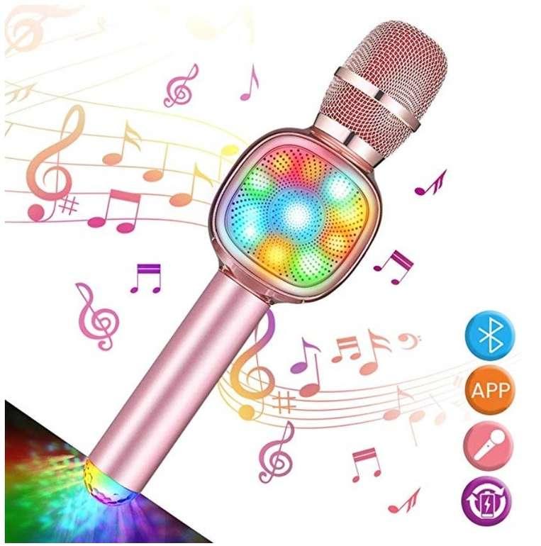Nasum Bluetooth Karaoke Mikrofon mit Lautsprecher für 16,24€ inkl. Prime Versand