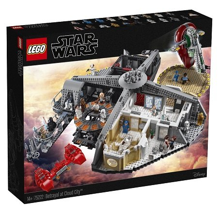 20% Rabatt auf Lego Star Wars bei Toys'R'Us - z.B. Verrat in Cloud City 279,99€