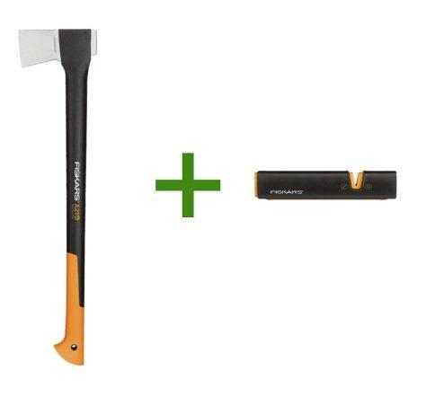 Fiskars X21-L Spaltaxt + Messerschärfer für 34,99€ inkl. Versand (statt 50€)