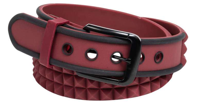 C3 Belt Silikon Gürtel in Maroon für 1,99€ zzgl. Versand (statt 10€)