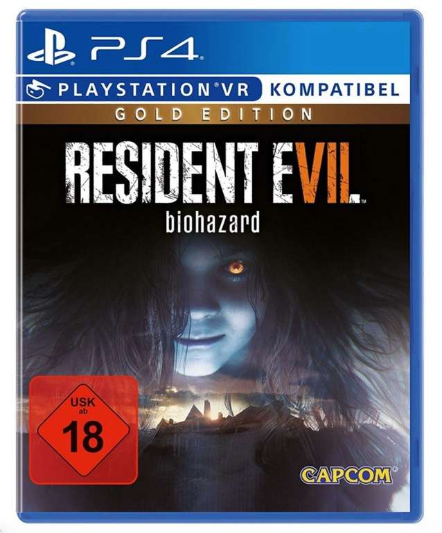 Resident Evil 7: Biohazard Gold Edition (PS4) für 15,09€ inkl. Versand (statt 26€) - PayDirekt!
